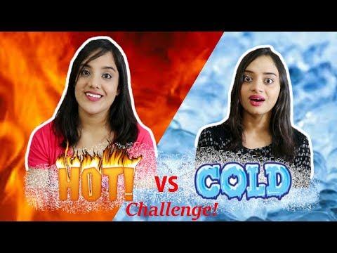 HOT Vs COLD Food Challenge   Life Shots