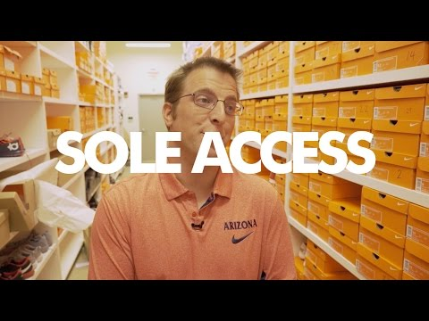 Inside the Arizona Wildcats Locker Room of Sneakers | Sole Access