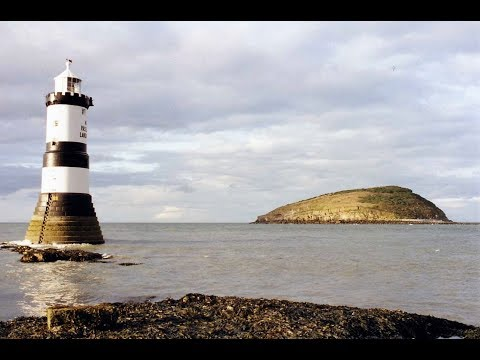 Lighthouses Of Wales, Trwyn Du, Anglesey.