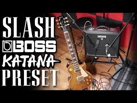 Slash Guitar Tone Boss Katana Preset | Guns 'N' Roses | FREE DOWNLOAD