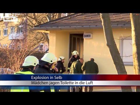 13012015 WUN Explosion in Selb: Mädchen von Spraydosen schwer verletzt