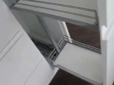 apothekerschrank mit auszugsk rben von kesseb hmer youtube