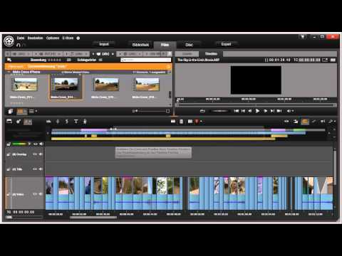 Der Navigator in Pinnacle Studio 16 und 17 Video 47 von 114