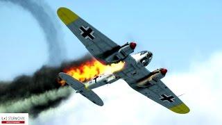 IL-2 Sturmovik Battle Of Stalingrad Crashes Compilation #4 1440p