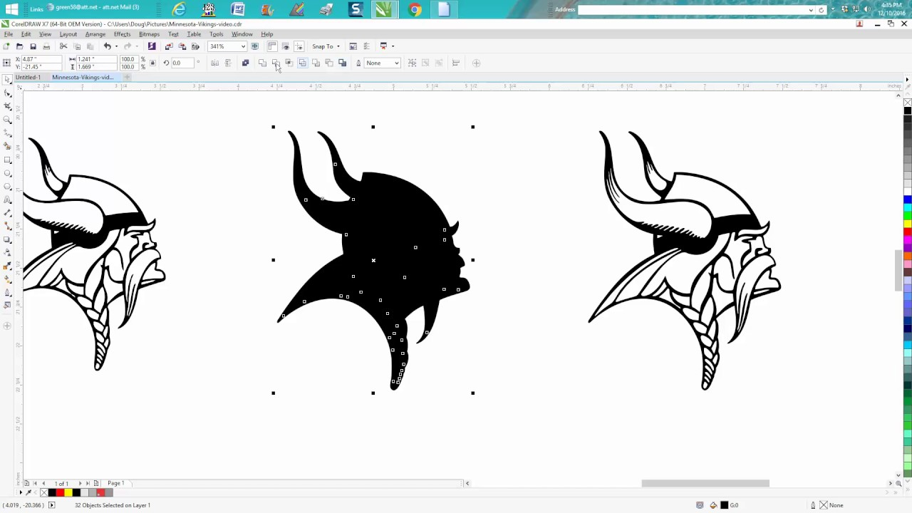 Corel draw clipart images - Corel Draw Tips Tricks Clipart Cut Line Cut And Engrave