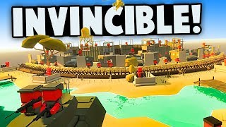 World War 2 Army Tries to Destroy an Invincible Fortress in Ancient Warfare 3!
