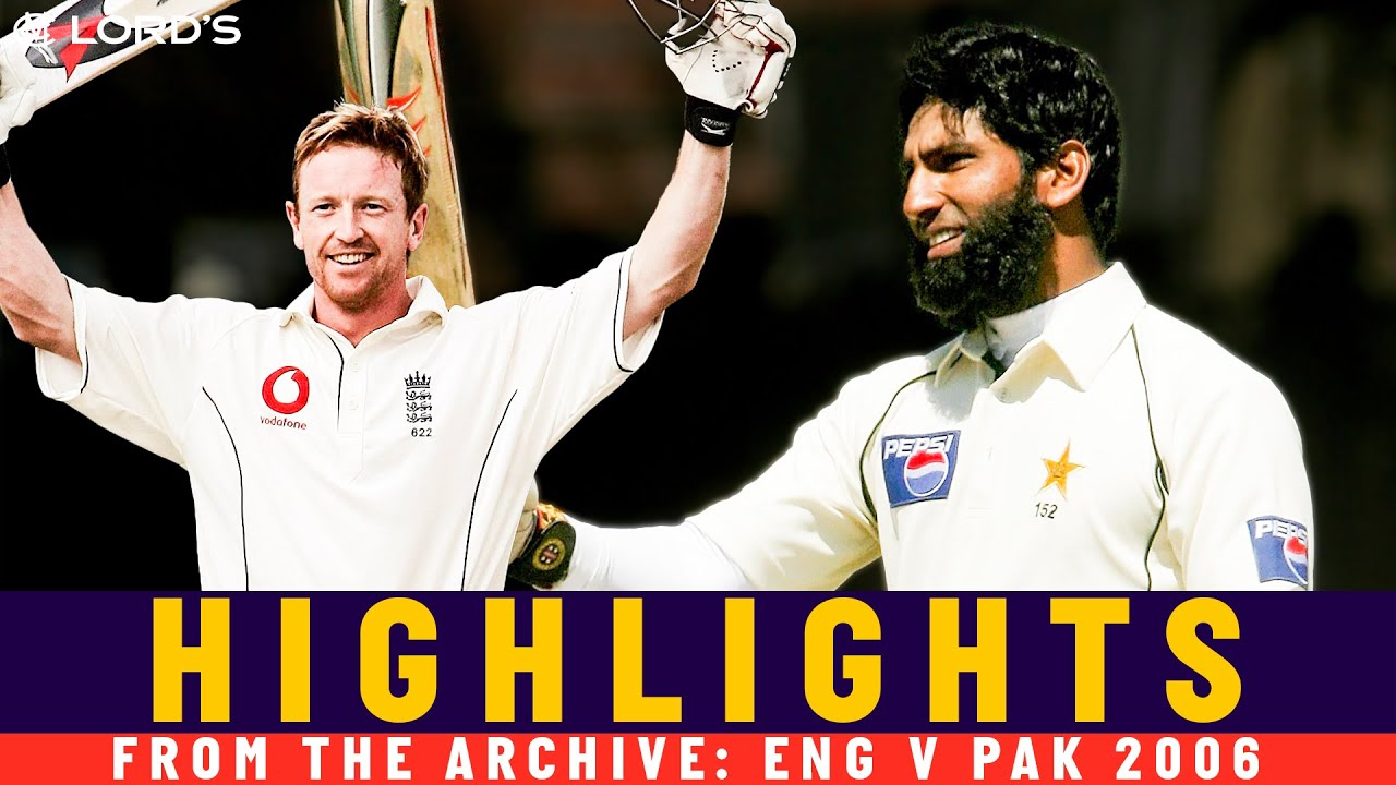 Mohammad Yousuf Hits 202 & Collingwood Goes Big! | Classic Match | England v Pakistan 2006 | Lord's