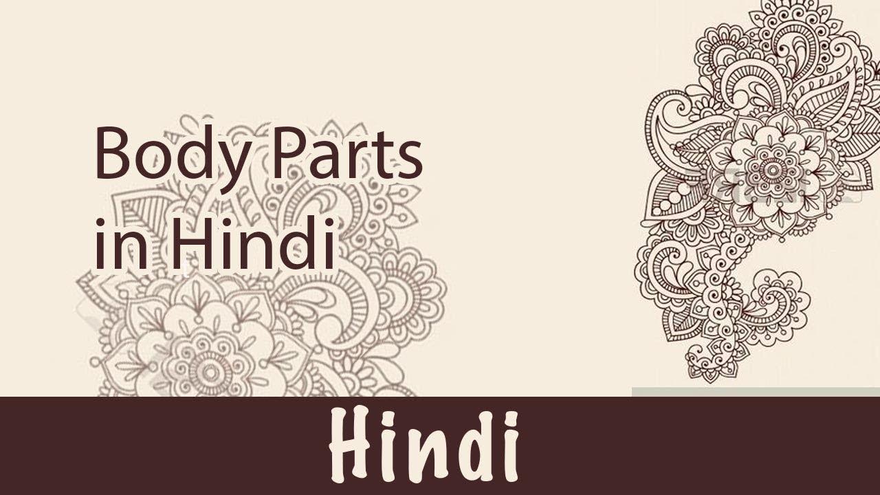 26  हिन्दी Language:Body Parts(Hindi)  Body(शरीर/बदन) Body Parts(अवयव/शरीर  के अंग)  Human Body Parts