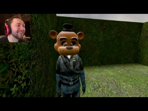 FNAF ANIMATRONIC MAZE SURVIVAL! | Gmod Sandbox Funny Moments
