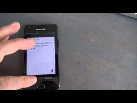test de google traduction sur smartphone android youtube. Black Bedroom Furniture Sets. Home Design Ideas