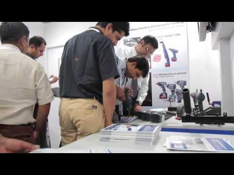 Rexroth at IMTEX 2015, Bangalore International Exhibition Center.