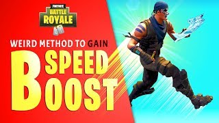 Most Useless Speed Boost Glitch in Fortnite Battle Royal (Run/Jump Faster by Building Ramps)