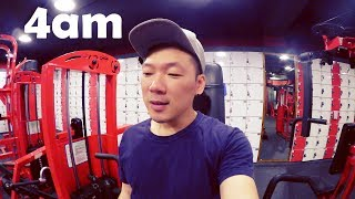 BODY CHANGES AND 24 HOUR GYMS IN KOREA