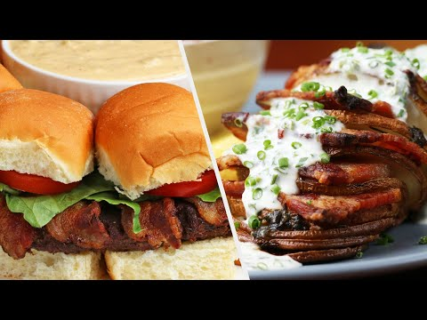 5 Bacon Recipes You Can Taste Through The Video •Tasty