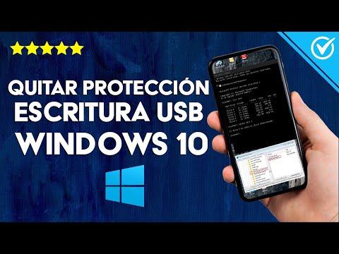 Cómo Desactivar o Quitar Protección Contra Escritura USB en Windows 10