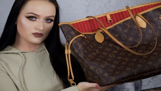 What's In My Bag? Louis Vuitton Neverfull MM