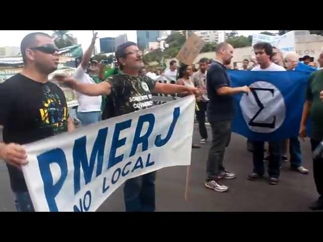 PM-RJ 40 mil armas pra dar tiro na Dilma.