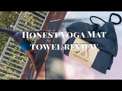 What is a Yoga Mat Towel? How To USE Yoga Towel & A Honest Review!
