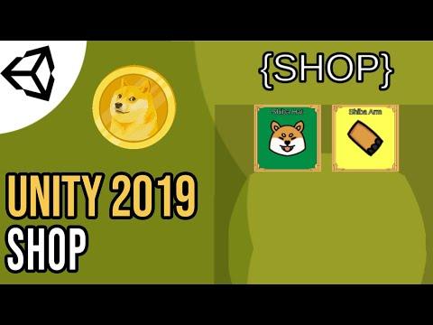 Creating A Shop - Dynamic [Tutorial][C#] - Unity Tutorial 2019