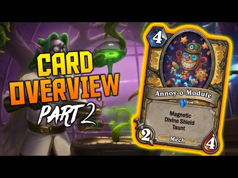 Annoy-o-Module & More Cards | Boomsday Project Card Overview | Part 2 | Hearthstone