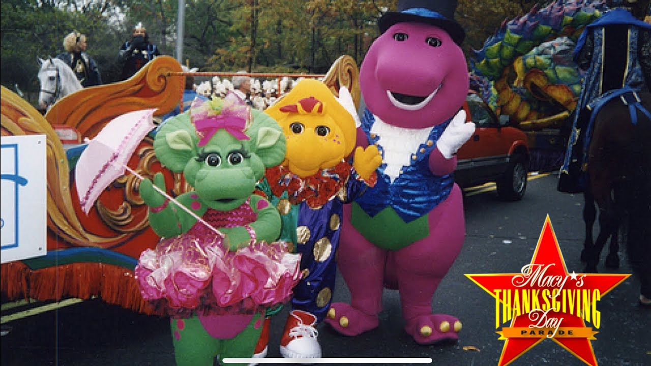 Barney in the 2000 Macy's Thanksgiving Day Parade