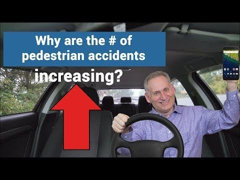Chicago pedestrian accident lawyer - Why are pedestrian accidents increasing?