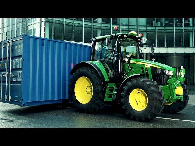 John Deere - Der neue 6M:  Beispiellose Fahrzeug-Nutzlast.