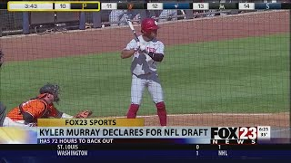 VIDEO - Kyler Murray declares for NFL draft