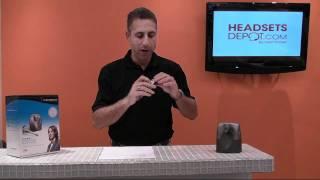 CS55 - Plantronics Wireless office Headset Review 2012!