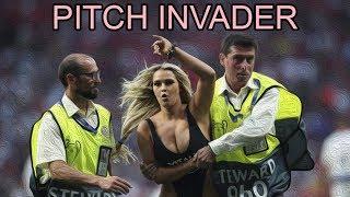 Russian Model Invades Champions League Final