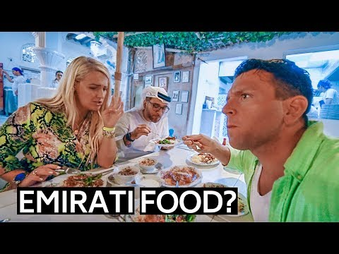 DUBAI FOOD | TRADITIONAL EMIRATI CUISINE UAE