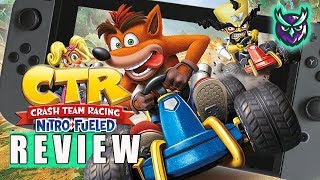 Crash Team Racing: Nitro-Fueled Switch Review (Video Game Video Review)