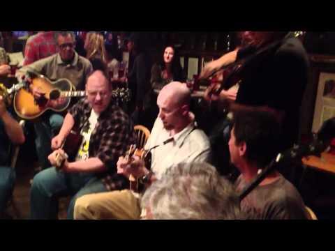 Bluegrass jam at Oskar Blues Brewery Lyons CO