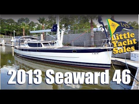 2013 Hake Seaward 46 Sailboat for sale at Little Yacht Sales, Kemah Texas