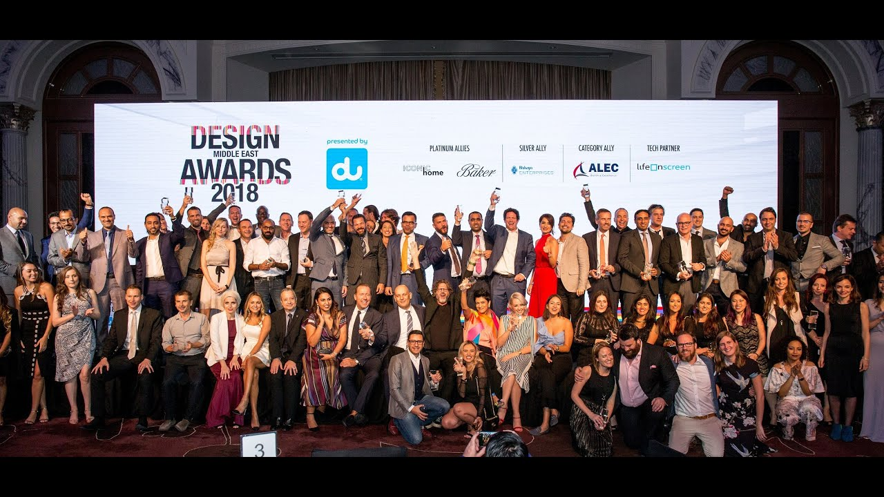 Highlights from the Design Middle East Awards 2018