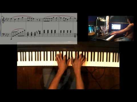 Opening Dragon ball Piano Solo + Sheet Music La Fantástica Aventura Makafushigi Adventure