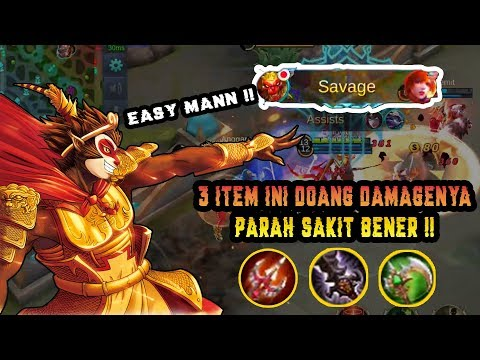 SUN Build Item Tersakit, Parah Damagenya Overpower Banget Dikeroyok Susah MATI !! - Mobile Legend