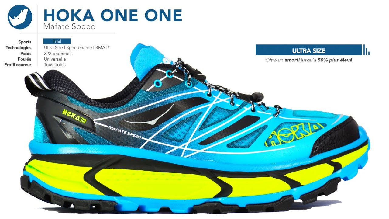 new style fa710 34198 Chaussures de trail | Hoka One One - Mafate Speed | Homme