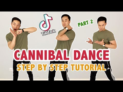 Kesha - Cannibal (TikTok Tutorial) | Part 2