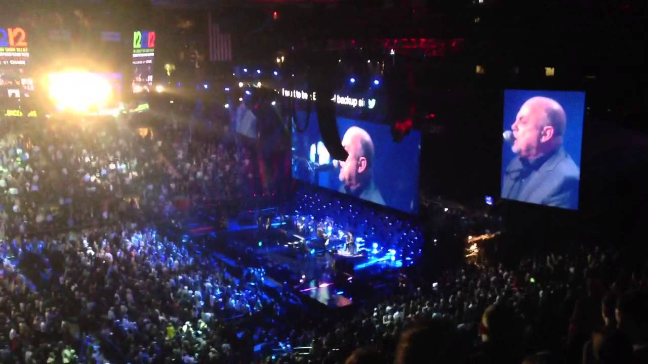 Billy Joel Only The Good Die Young live 121212 concert