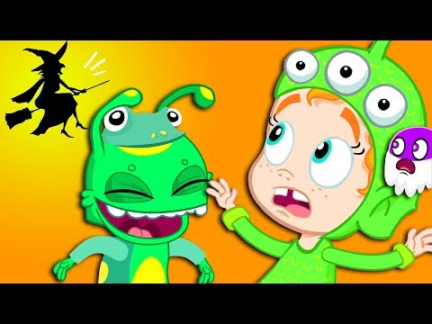 Groovy The Martian HALLOWEEN COSTUME PARTY Full episodes! Cartoon for kids & Nursery Rhymes