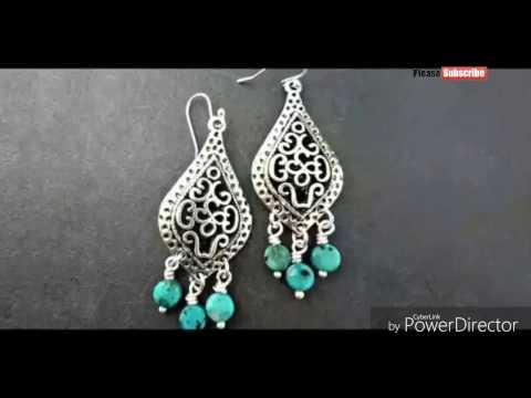 silver-earring-designs