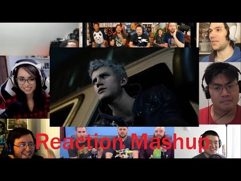 Devil May Cry 5   Official Reveal Trailer   E3 2018 REACTION MASHUP