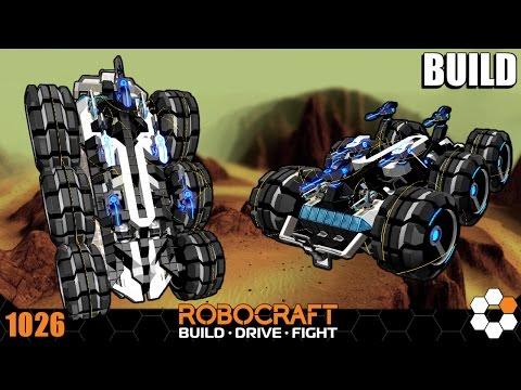 Robocraft Build - Speed Demon - 1728 CPU