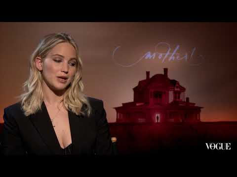 Jennifer Lawrence on working with boyfriend Darren Aronofsky in her new film, Mother!