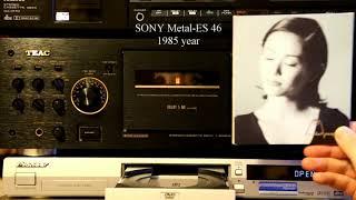 Проверка на запись б.у. кассеты SONY Metal-ES образца 1985 года (деки TEAC V-6030S и Pioneer T-700S)