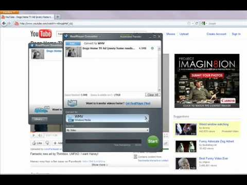 How to download videos on youtube with realplayer