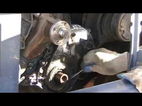 ford econoline 250 1994 wiring diagram 1987 f150 i6 fan clutch cam timing gear replace part ii