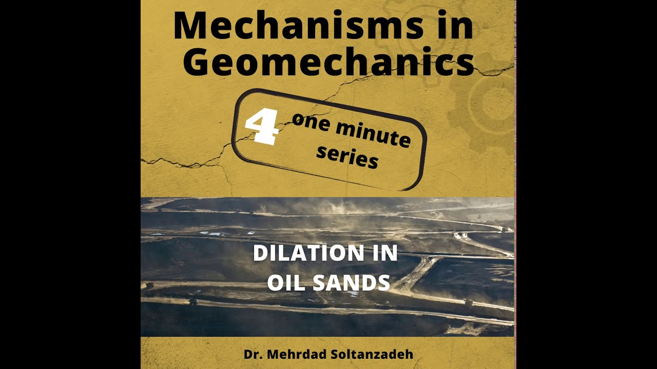 Dilation in Oil Sands in One Minute - Mechanisms in Geomechanics