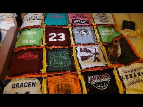 Gracens Shirt Quilt For Graduation